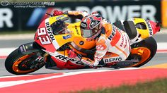 MotoGP Circuit of the Americas Qualifying Results 2013:  1. Marc Marquez (Honda) 2'03.021  2. Dani Pedrosa (Honda) 2'03.275  3. Jorge Lorenzo (Yamaha) 2'04.100  4. Cal Crutchlow (Yamaha) 2'04.267  5. Stefan Bradl (Honda) 2'04.445  6. Andrea Dovizioso (Ducati) 2'04.873  7. Alvaro Bautista (Honda) 2'04.942  8. Valentino Rossi (Yamaha) 2'05.380  9. Aleix Espargaro (ART) 2'05.389  10. Nicky Hayden (Ducati) 2'05.568