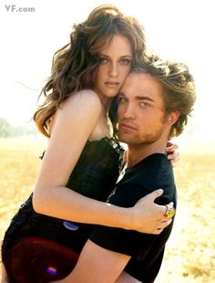 Kristen Stewart and Robert Pattinson. Annie Liebovitz for Vanity Fair.