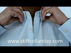 Collar Shaper I Stiff Collar Stay