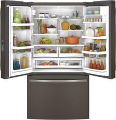 Our Ge Profile Series Counter Depth French Door Refrigerator Is Both High Tech