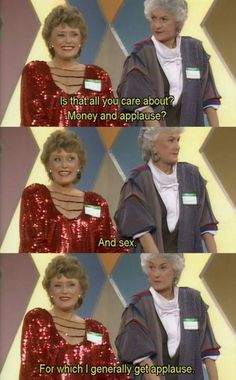 we could all learn a sassy lesson from the golden girls 15 We could all learn a lesson in sass from The Golden Girls (19 photos)