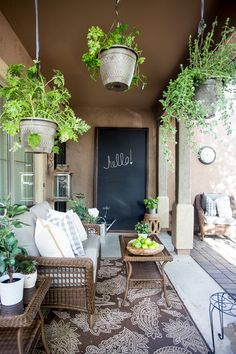 French Inspired Courtyard Design Ideas-- what a lovely spot for relaxing! Destiny Alfonso of Just Destiny Mag has the most amazing patio. See it on The Home Depot Blog.