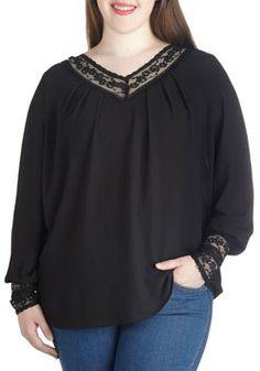 Bistro Brunch Top in Plus Size, #ModCloth