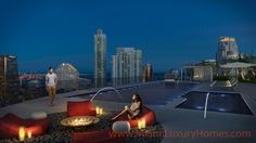 Brickell Heights  Condos RoofTop