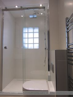 Small bathroom to shower room conversion in London