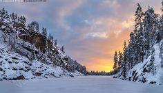 Pyhän piiri - Julma Ölkky Kuusamo luonnonsuojelualue  Finland Winter Landscape, Winter Scenes, Outdoor Life, Nature Pictures, Nice View, Where To Go, Natural Beauty, Places To Go, Scenery