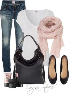 """Soft Pink"" by orysa on Polyvore"