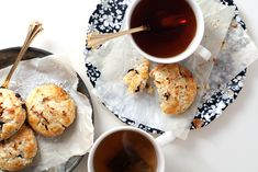 Coconut + Chocolate Chip Cream Scones - hungrygirlporvida.com
