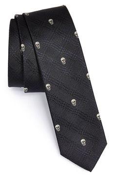 Alexander McQueen Woven Silk Tie | Nordstrom