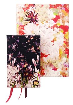 Smythson & Erdem collaboration floral notebooks. Gorgeous notebooks for gorgeous words.