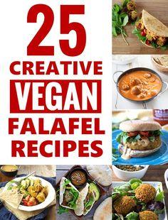 25 Creative Vegan Falafel Recipes