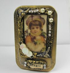 Altered Altoid Tin Magic  Decorative by ferrytalesgifts on Etsy, $12.50