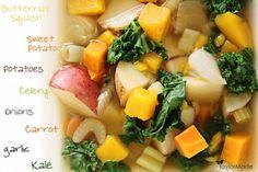 Detox Vegetable Soup, Potato Vegetable, Detox Soup, Vegetable Recipes, Hamilton Beach Slow Cooker, Detox Recipes, Healthy Recipes, Slow Cooker Recipes, Cooking Recipes