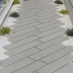 Image result for skinny rectilinear pavers
