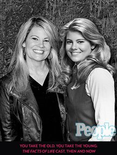 "You Take the Young, You Take the Old: The Facts of Life Cast, Then and Now| Like Blair Warner, the Survivor contestant is still full of ""brilliant ideas.""  Lisa Whelchel in 2012 and 1982"