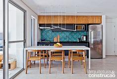 Revista Arquitetura e Construção - Marcenaria é a estrela do projeto