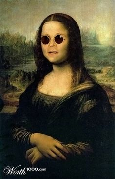 Ozzy (Celebrities edited into classic works of art)