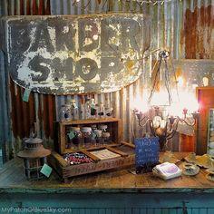 Salvage Sisters Burlington Nc Signs Metal Outdoor Furniture Painted Furniture