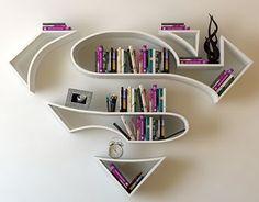 Superman book shelf
