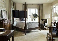 Robert Brown interiors--masculine bedroom