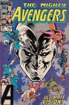 AVENGERS # 254 MARVEL COMICS ROGER STERN / BOB HALL 1985 f(6.0) ~~