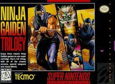 Emularoms: Ninja Gaiden Trilogy (BR) [ SNES ]