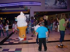 WMMS 6/19/2013 at our Charlestowne 18 Theatre.  Curly Cone for Dairy Queen came to visit.