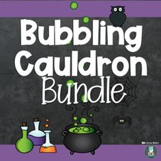 Hocus Pocus! ZAP- BOOM! The Bubbling Cauldron Writing Center and The Bubbling Cauldron dramatic play center are a perfect pair to keep your preschoolers and kindergarteners playing during the Halloween season. Preschool and kindergarten children can let their imaginations sore as they create some... Halloween Theme Preschool, Halloween Themes, Halloween Season, Writing Lines, Pre Writing, Writing Center Preschool, Dramatic Play Centers, Inspired Learning, Vocabulary Cards