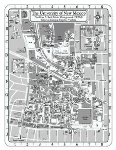 University New Mexico Zimmerman Library Beautiful Albuquerque