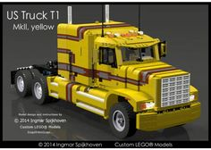 US Truck T1 MKII (Yellow Version)