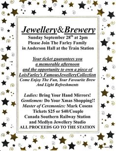 Jewellery & Brewery September 28 2015