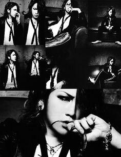 Ruki photoset - vocalist from the GazettE (Japanese Visual Kei band)
