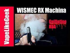 WISMEC RX Machina - Guillotine RDA - Μηχανικό ΚΙΤ για πεπειραμένους ατμιστές WISMEC RX Machina - Guillotine RDA - Μηχανικό ΚΙΤ για πεπειραμένους ατμιστές Περισσοτερες πληροφοριες εδω http://ift.tt/2yozHcY και http://ift.tt/2smzy7q WISMEC RX Machina Height: 81.3mm Diameter: 28mm Weight: 97.2g Cell type: 20700 cell/18650 cell with adapter Guillotine RDA Height: 35mm Diameter: 24mm Weight: 33g ----------------------------------------------------------------------------------------------- Οποιος…