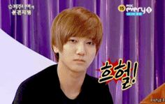 When you see something scary! Relating things to kpop - Yesung from Super Junior