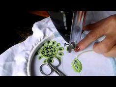 Jak powstaje haft richelieu na koszuli łowickiej - folklor portal wiano.eu - YouTube