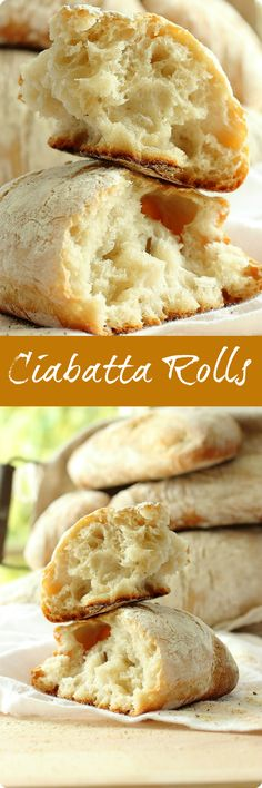 Ciabatta Rolls | Chewy and crusty these traditional Italian rolls are perfect for making the ultimate sandwich. Find recipes at redstaryeast.com.