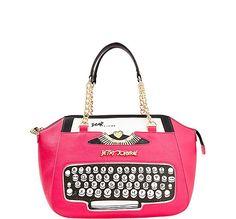 Handbags - Shop Women's Purses & Designer Handbags from Betsey Johnson Unique Handbags, Unique Purses, Cute Purses, Unique Bags, Satchel Purse, Satchel Handbags, Purses And Handbags, Gucci Purses, Estilo Kitsch