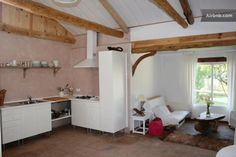 Space to live- kitychen and salon. Cocina-salón