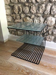 Pipedesign Comolino con vetro acidato Led, Table, Furniture, Home Decor, Decoration Home, Room Decor, Tables, Home Furnishings, Home Interior Design