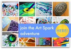 Click here to get your Art Spark resources. I'll guide you through four weeks of beautiful and fun art projects that you can enjoy with your children. At home or at school, these process art projects will give you an interesting framework of activities that you can weave into your weeks, so your children are …