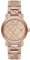 Burberry Quartz Analog Date Rose Gold Tone Stainless Steel Watch# BU9039 (Women Watch)