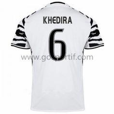 maillot de foot Series A Juventus 2016-17 Khedira 6 maillot third