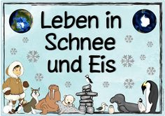 """Neues Themenplakat: Leben in Schnee und Eis  Das nächste Plakat  zum Thema """"Leben in Schnee und Eis"""" ist fertig.  Passend dazu gibt es ja s..."""