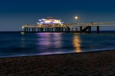 Blue hour at the new pier Timmendorfer Strand by Björn  Siegfried on 500px