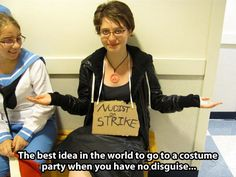 When you have no costume  - funny pictures #funnypictures