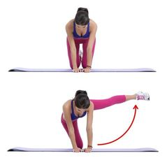 Workout Plan No More Squats: 9 Exercises to Have the Butt of Your Dreams Fitness Workouts, Sport Fitness, Butt Workout, Glute Kickbacks, Conditioning Workouts, Major Muscles, Leg Raises, Ab Workouts, Workout Exercises
