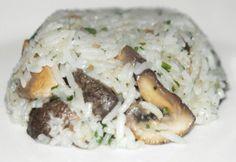 Gombás rizs ahogy Kornél készíti