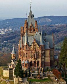 Drachenburg Castle, Germany photo via noemi