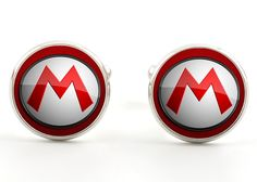 Super Mario Logo Cufflinks