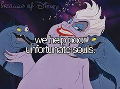 Because of Disney..